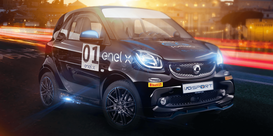 Smart Fortwo Electric Drive E-Cup