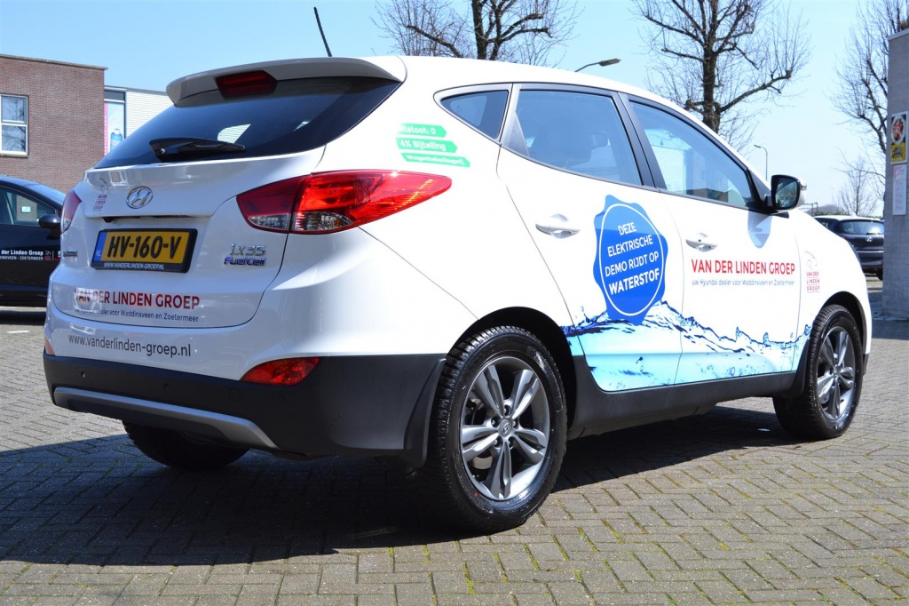 Hyundai iX35 Fuel Cell Waterstof