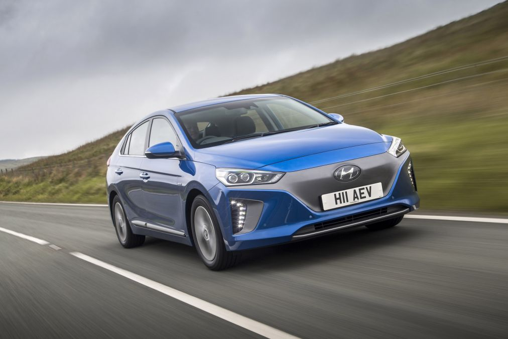 Hyundai Ioniq Electric winnaar verbruiks test