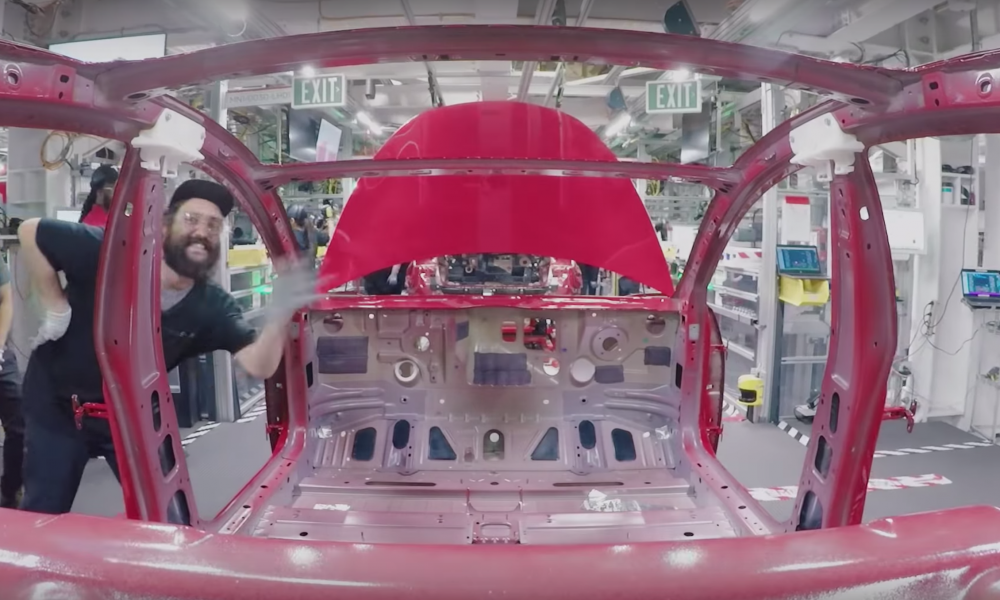 Tesla Model 3 productie