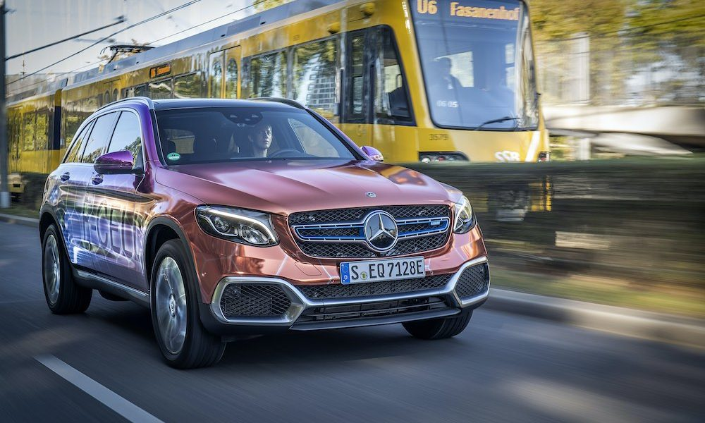 Waterstof Mercedes GLC F-Cell